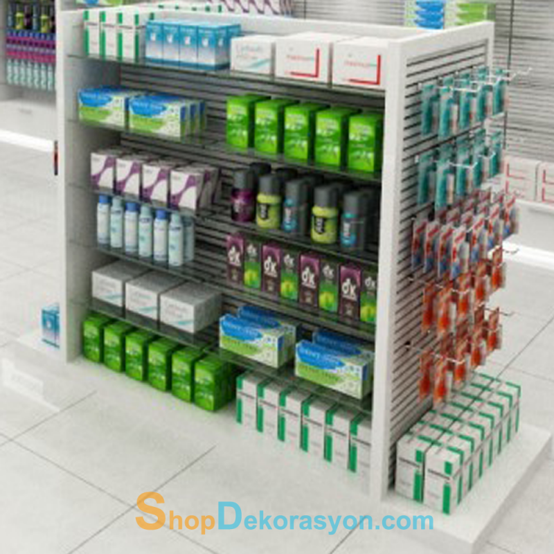 Pharmacy Display Shelving Gondola