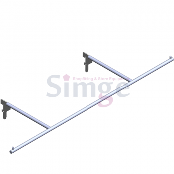 Lingerie Wall Strip Hang Rail