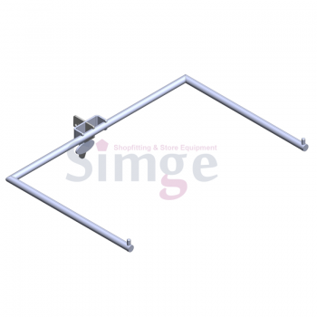Lingerie  U Type Wall Strip Hang Rail