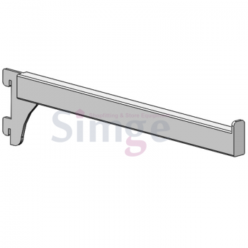 Straight Arm for Concealed Aluminum and Steel Stripping